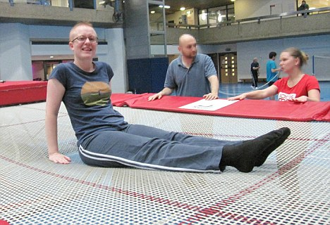 Trampolining classes good for your health