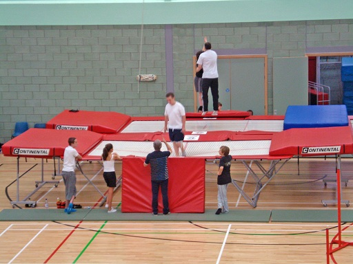 Trampoline clubs are available in most large towns and cities