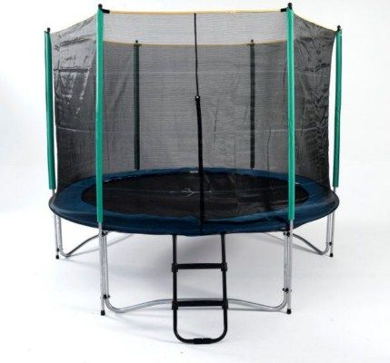 10ft Tr&oline with Enclosure  sc 1 st  Atlantic Tr&olines & 10ft Roof for Trampoline. Bounce in the Rain with a Trampoline Roof!