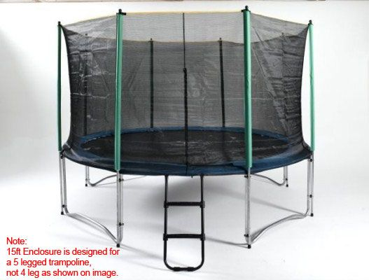 15ft trampoline enclosure