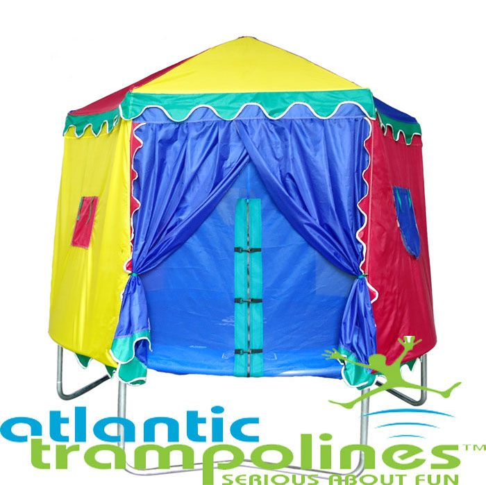 6ft circus tent  sc 1 st  Atlantic Tr&olines & 6ft Circus Tent. Trampoline Circus Tents With Free Next Day Delivery!
