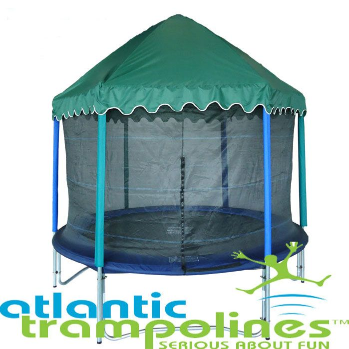 14ft Roof For Trampoline Bounce In The Rain With A