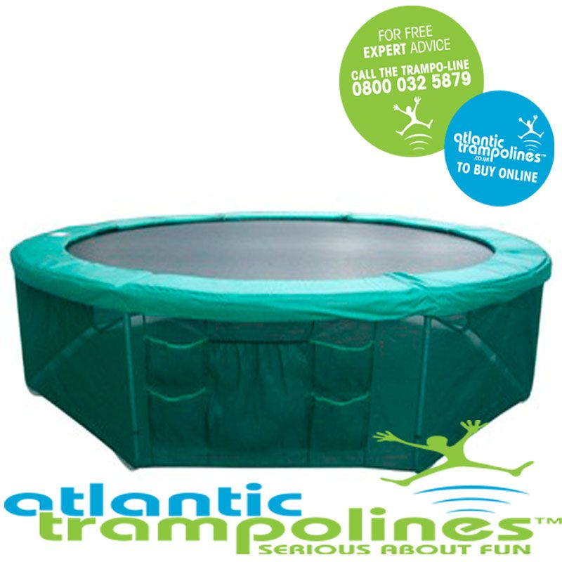 14ft Safety Skirt. 14ft Tr&oline Skirt  sc 1 st  Atlantic Tr&olines & Tent for 14ft Trampoline. Free Next Day Delivery!